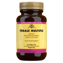 Solgar Female Multiple - Monivitamiini naiselle, 60 tablettia