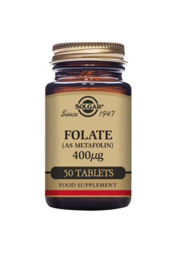 Solgar Folaatti 400 μg (as Metafolin ®)