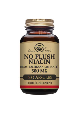 Solgar No-Flush Niasiini 500 mg
